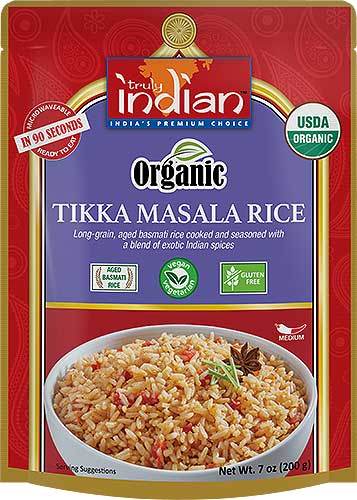 Truly Indian Organic Tikka Masala Rice (Vegan) - (Ready-to-Eat)