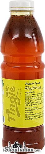 Tingle Falooda Syrup - Rajbhog Flavour