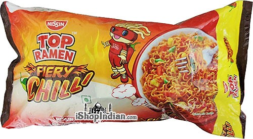 Top Ramen Noodles - Fiery Chilli - Quad
