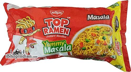 Top Ramen Noodles - Masala - Quad