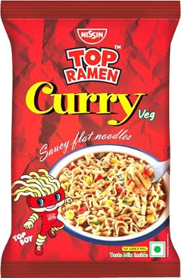 Top Ramen Curry Noodles - Single