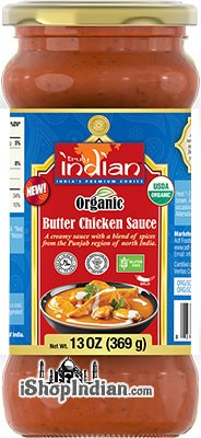 Truly Indian Organic Butter Chicken Sauce