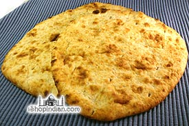 Crispy Tandoori Naan - Whole Wheat