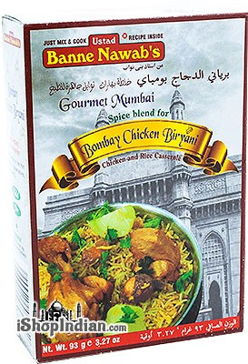 Ustad Banne Nawab's Bombay Chicken Biryani Masala