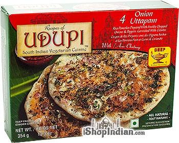 Udupi Onion Uttapam - 4 pcs (FROZEN)