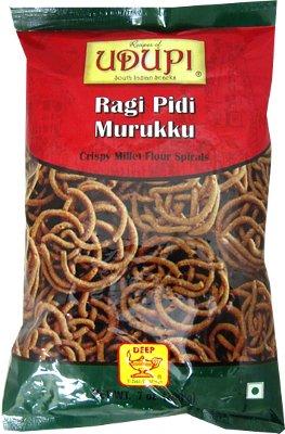 Udupi Ragi Pidi Murukku - Crispy Millet Flour Spirals