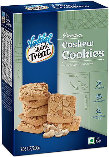 Vadilal Cashew Cookies