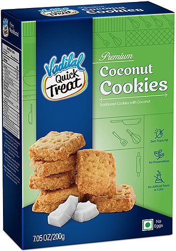 Vadilal Coconut Cookies