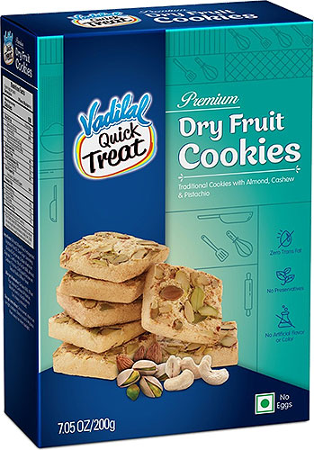 Vadilal Dry Fruit Cookies