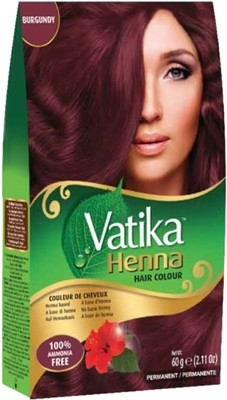 Vatika Henna Hair Colors - Burgundy