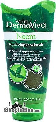 Vatika Dermoviva Neem Purifying Face Scrub
