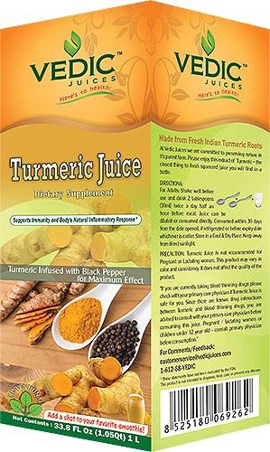 Vedic Turmeric Juice