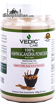 Vedic Care Ashwagandha Powder (Winter Cherry)