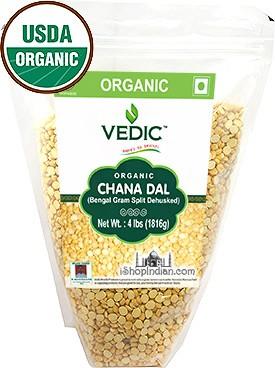 Vedic Organic Chana Dal / Bengal Gram