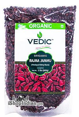 Vedic Organic Rajma Jammu / Himalayan Kidney Beans - 2 lbs