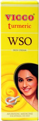 Vicco Turmeric Skin Cream WSO (without sandalwood oil)