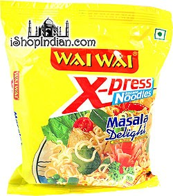 Wai Wai X-press Instant Noodles - Masala Delight