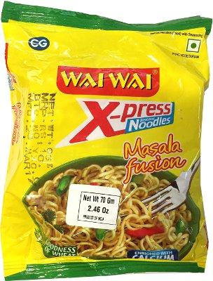 Wai Wai X-press Instant Noodles - Masala Fusion