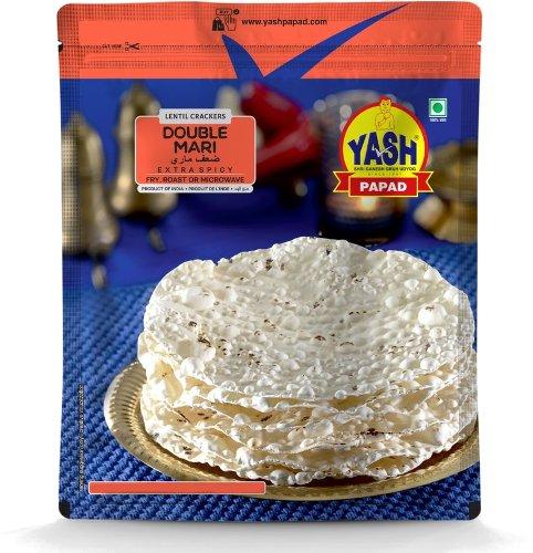 Yash Double Mari / Black Pepper Papad