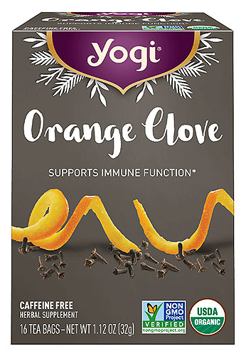 Yogi Orange Clove Tea - NEW!