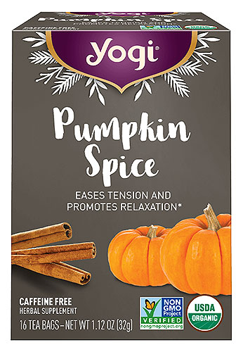 Yogi Pumpkin Spice Tea - NEW!
