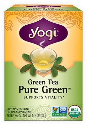 Yogi Green Tea Pure Green