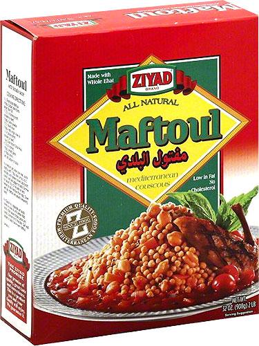 Ziyad Maftoul - Middle Eastern Couscous