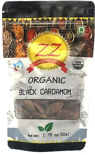 ZZ Organic Black Cardamom - 1.75 oz