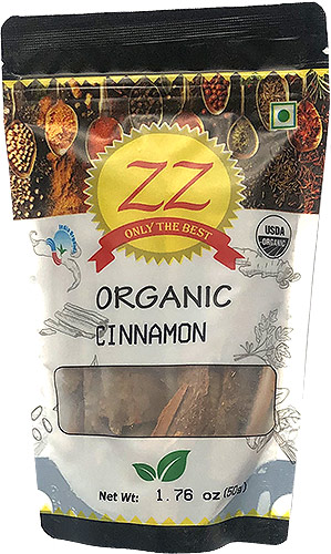 ZZ Organic Cinnamon Whole