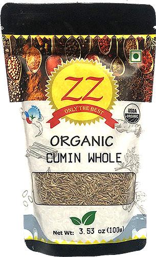 ZZ Organic Cumin Seeds Whole