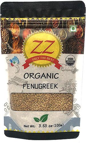 ZZ Organic Fenugreek Seed - 3.5 oz