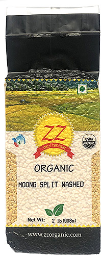 ZZ Organic Moong Dal (Moong Split Washed)