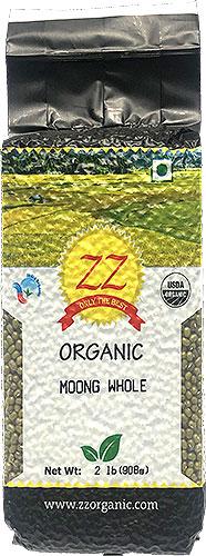 ZZ Organic Moong Whole (Green Gram Whole)