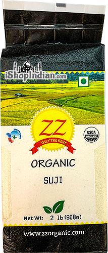 ZZ Organic Wheat Suji (Cream of Wheat - Rawa) Wheat Semolina