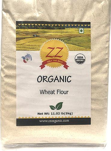 ZZ Organic Whole Wheat Flour- 11 lbs