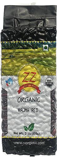 ZZ Organic Rajma Red - Red Kidney Beans