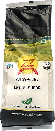 ZZ Organic White Sugar - 2 lbs