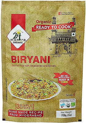 24 Mantra Organic Biryani Mix - Ready to Cook