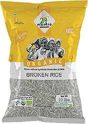 24 Mantra Organic Broken Rice - 10 lbs