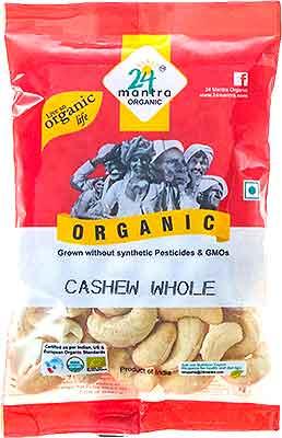 24 Mantra Organic Cashew Whole