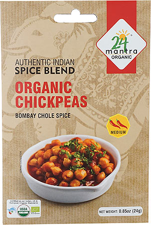 24 Mantra Organic Chickpeas Spice Mix - Bombay Chole Spice