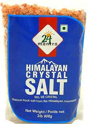 24 Mantra Himalayan Crystal Salt