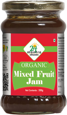 24 Mantra Organic Mixed Fruit Jam