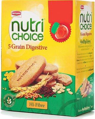 Britannia NutriChoice 5 Grain Biscuits (Digestive)
