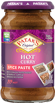 Patak's Curry Paste (Hot)