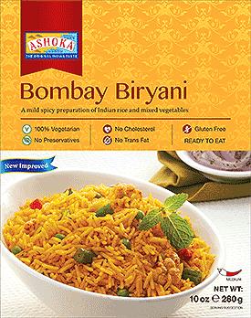 Ashoka Bombay Biryani (Ready-to-Eat) - BUY 1 GET 1 FREE!