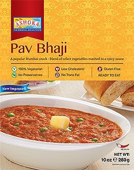 Ashoka Pav Bhaji (Ready-to-Eat) - BUY 1 GET 1 FREE!