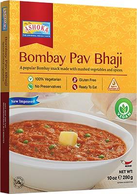 Ashoka Bombay Pav Bhaji - Vegan (Ready-to-Eat) - BUY 1 GET 1 FREE!