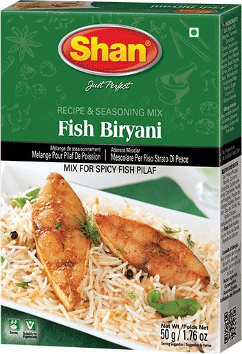Shan Fish Biryani Spice Mix