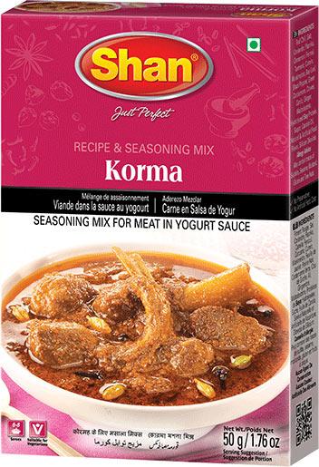 Shan Korma Curry Mix